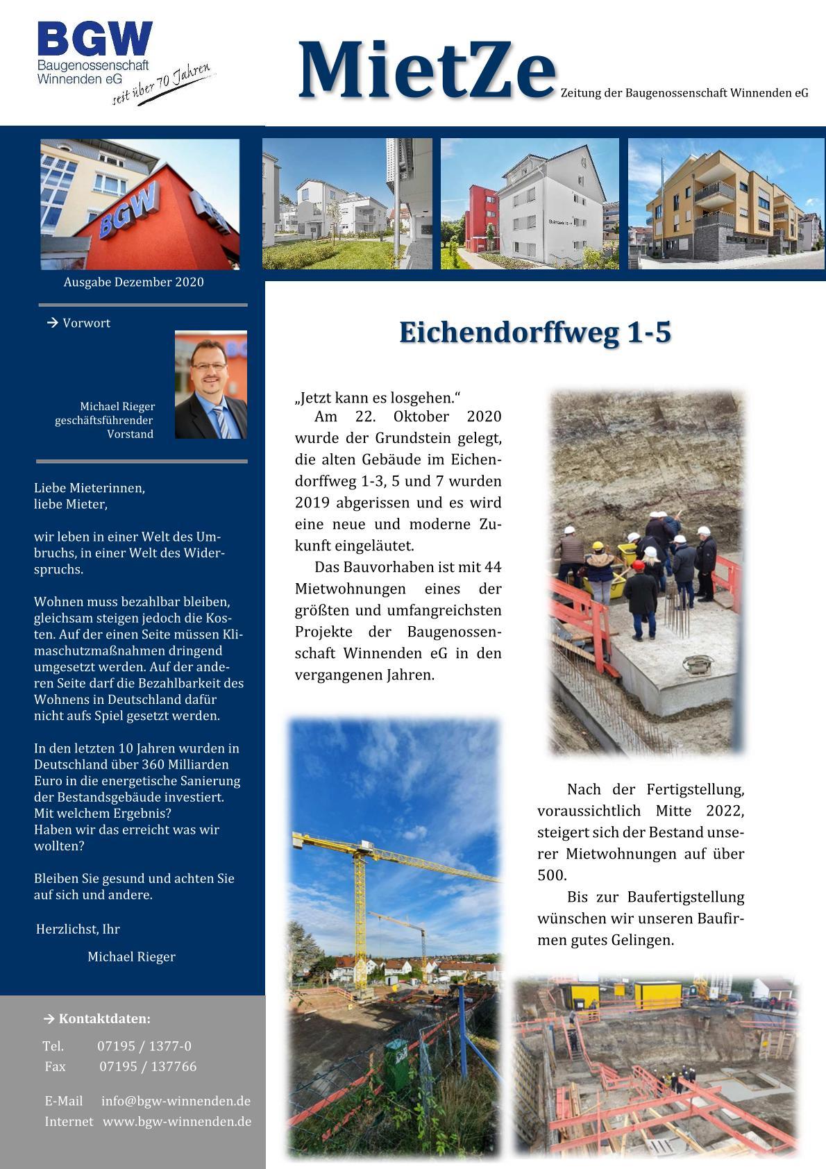 Deckblatt Mietze 2020 - Infos