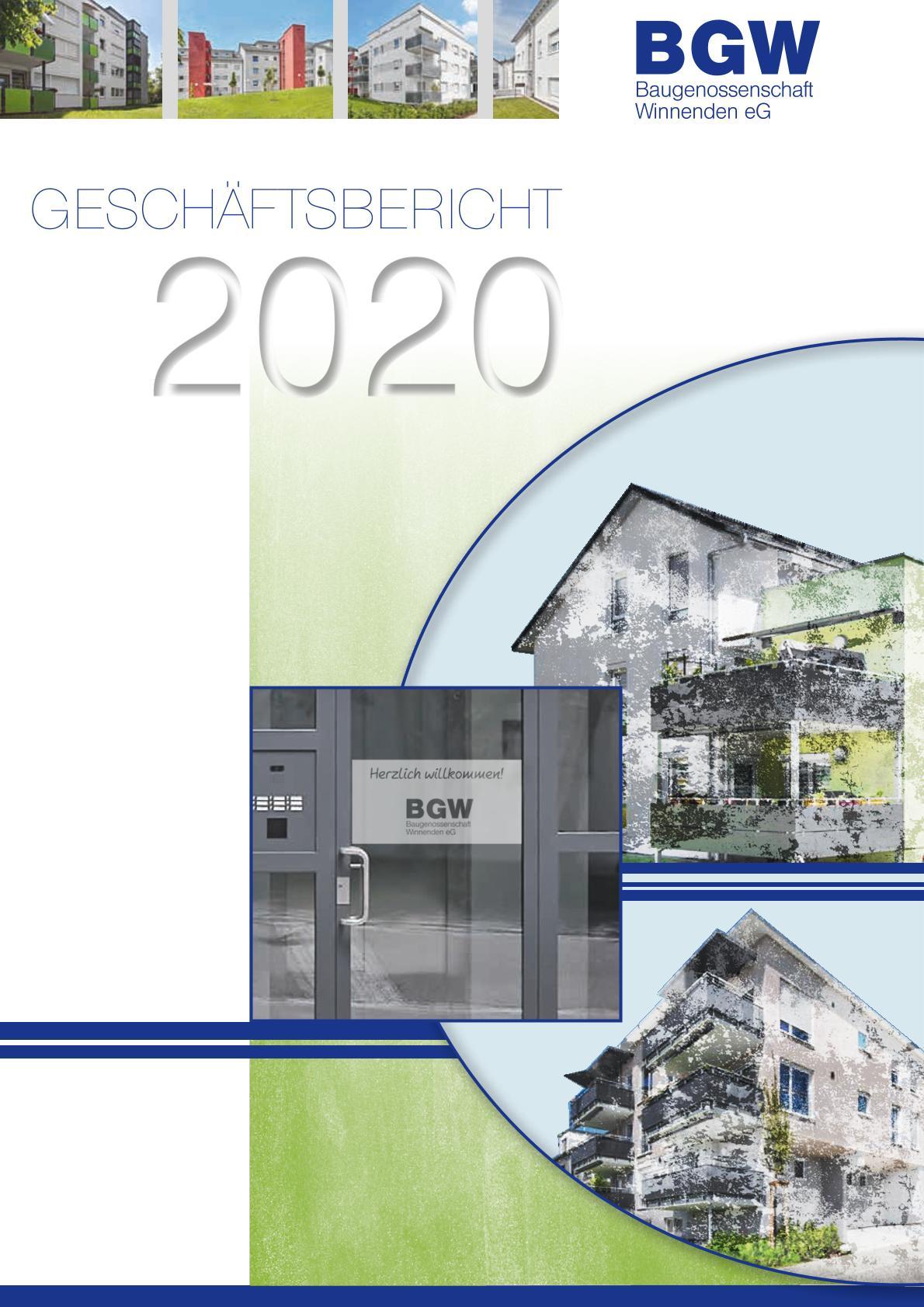 Geschaeftsbericht Deckblatt - Infos